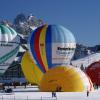 Heißluftballone im Winter - über Tirol schweben