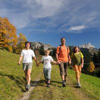 Wanderurlaub im Tannheimer Tal in Tirol.