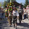 Almtiere und Hirten kehren ins Tannheimer Tal (Tirol)
