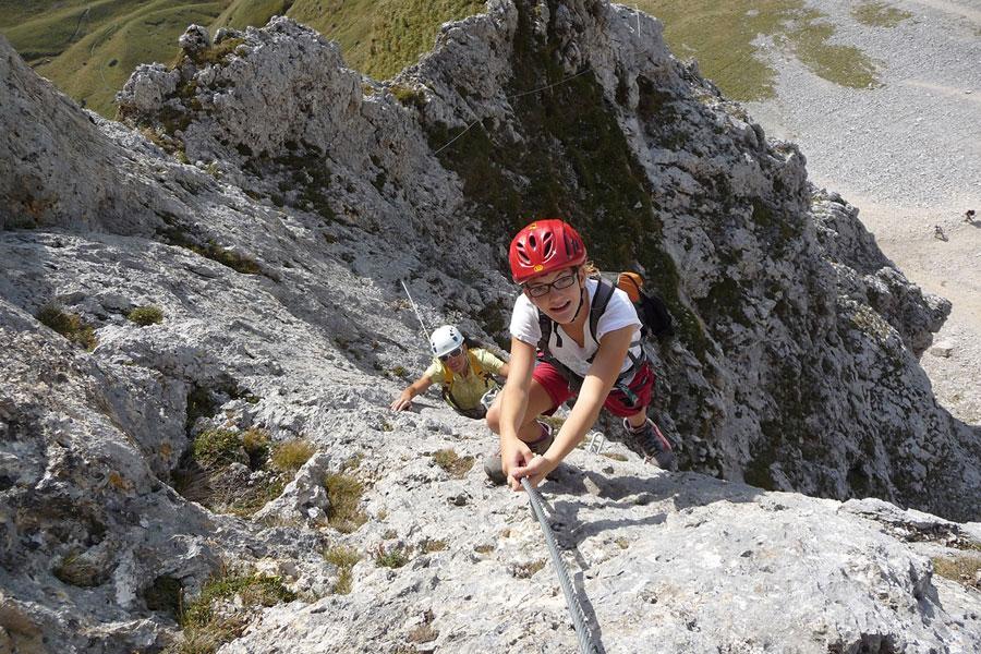 Klettergurt Für Halle Und Klettersteig : Der mittelrhein klettersteig in boppard wandernbonn