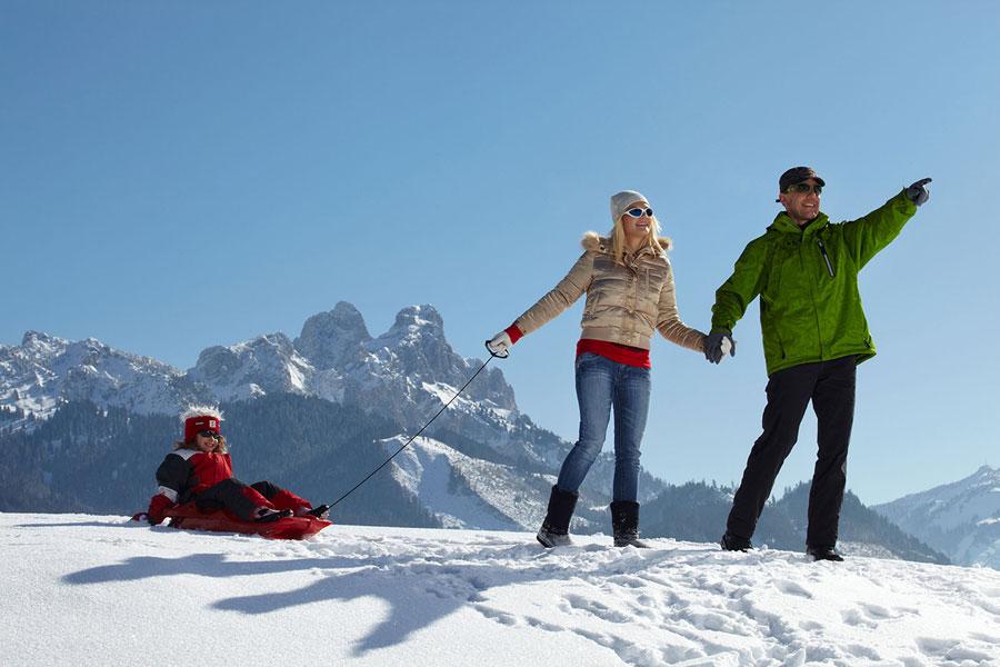 Winterurlaub tirol wintersport im tannheimer tal for Designhotel tannheimer tal